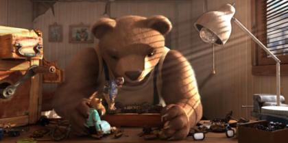 """Las carreras  profesionales de los creadores de """"Historia de un oso"""""""