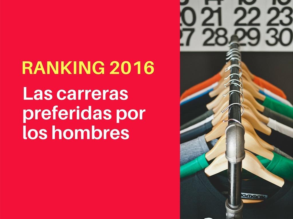 Las carreras dominadas por los hombres en Chile