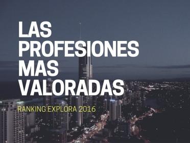 Las profesiones más valoradas por los chilenos