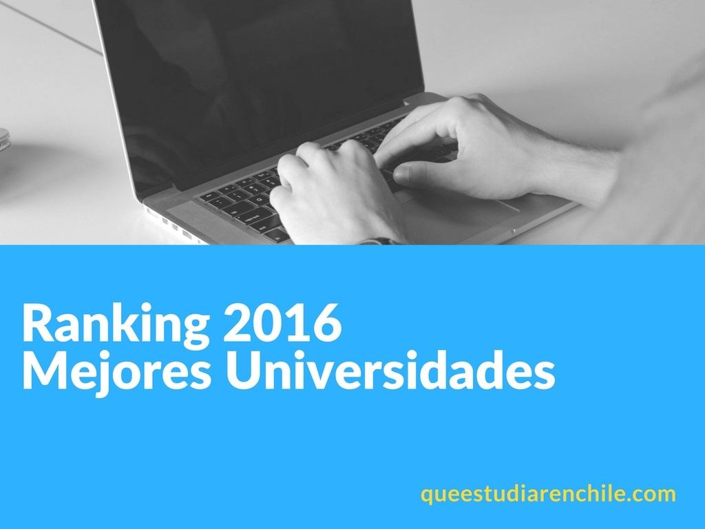 Las 11 mejores universidades chilenas segun ranking internacional QS 2016