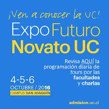 Feria de carreras, recorridos por las facultades y charlas en la Expo Futuro Novato UC