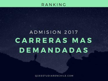 Ranking 2017 de las carreras universitarias más demandadas