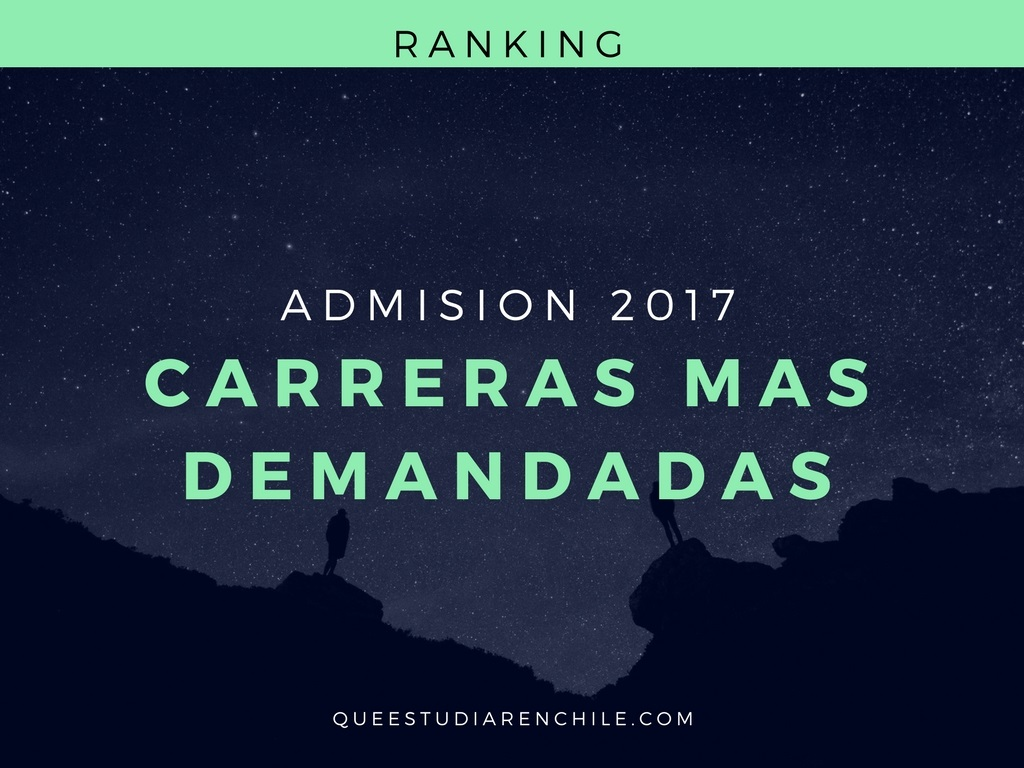 Carreras universitarias más demandadas en Chile