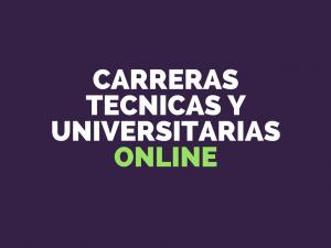 carreras tecnicas y universitarias online