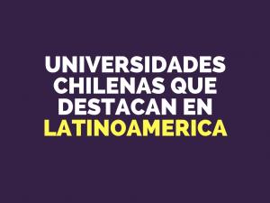 ranking universidad latinoamerica